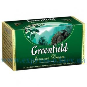 Изображение Чай Greenfield зеленый Jasmine Dream 25 пакетов х 2 г