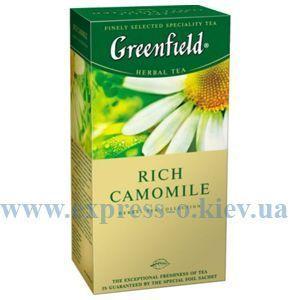 Изображение Чай Greenfield травяной Rich Camomile 25 пакетов х 1,5 г