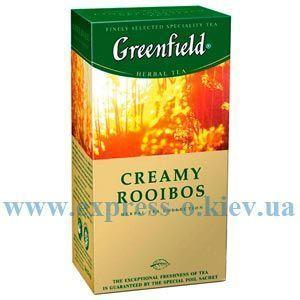 Изображение Чай травяной Greenfield Creamy Rooibos 25 пакетов х 1,5 г