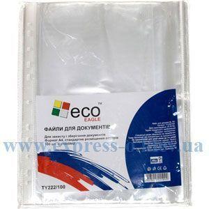 Изображение Файл А4 Eco-Eagle 40 мкм прозорий, 100 штук