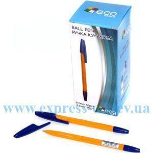 Изображение Ручка кулькова Eco-Eagle 0,7 мм, колір синій