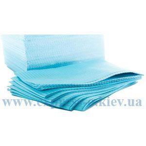 Изображение Стоматологическая салфетка голубая 500 штук
